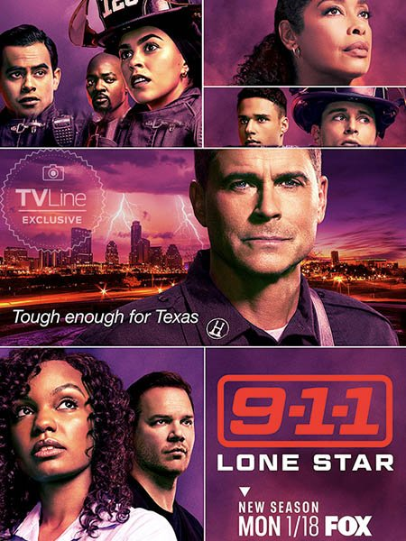 9-1-1: Одинокая звезда (2 сезон) / 9-1-1: Lone Star (2021) WEB-DLRip